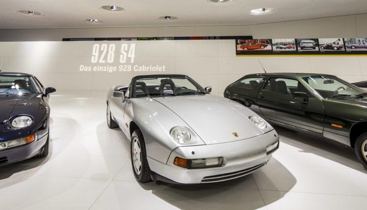 Porsche výstava transaxle modelov