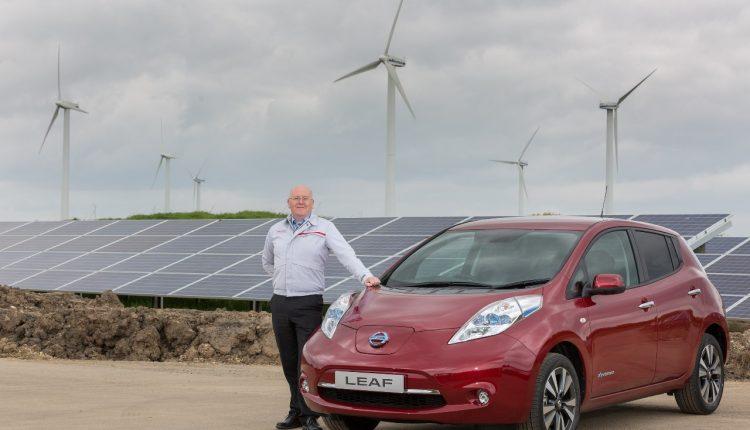 Nissan solárne články Sunderland