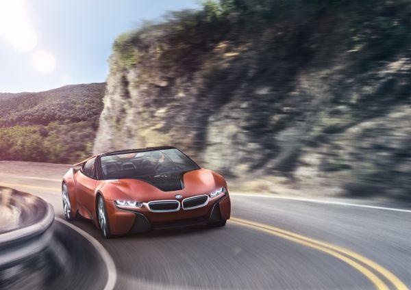 BMW plne autonómne vozidlo