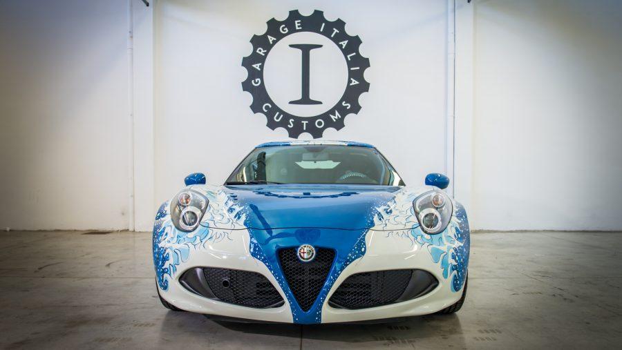 Alfa Romeo 4C Hokusai V½stavn½ kus od Garage Italia Customs