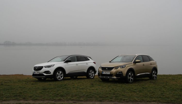 Miltitest Peugeot 3008 vs Opel Grandlad X
