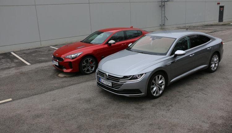 Kia Stinger GT vs Volkswagen Arteon