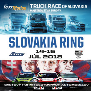 SlovakiaRing – do 16.7.2018