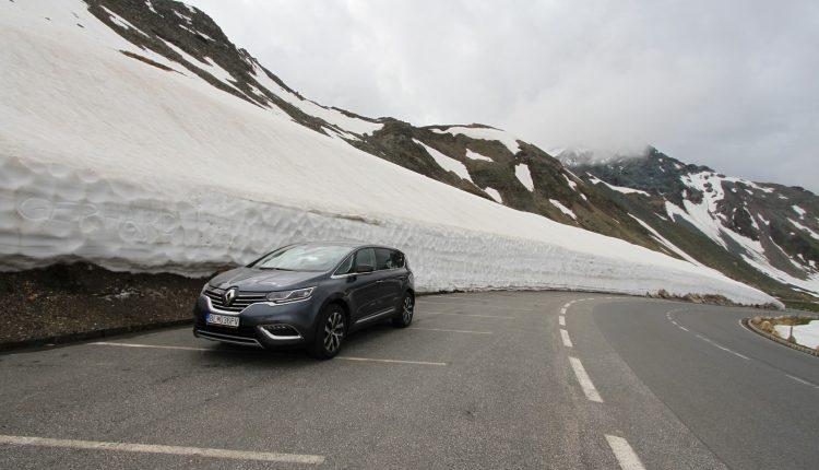 Renault Espace na Grossglockner