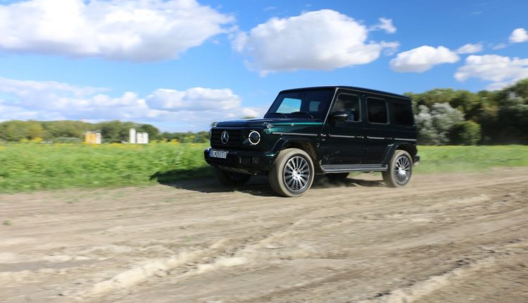 Test Mercedes-Benz G 500