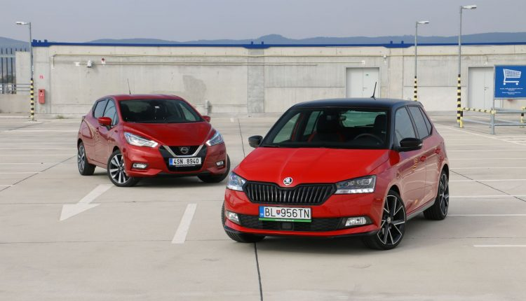Multitest: Nissan Micra vs. Škoda Fabia