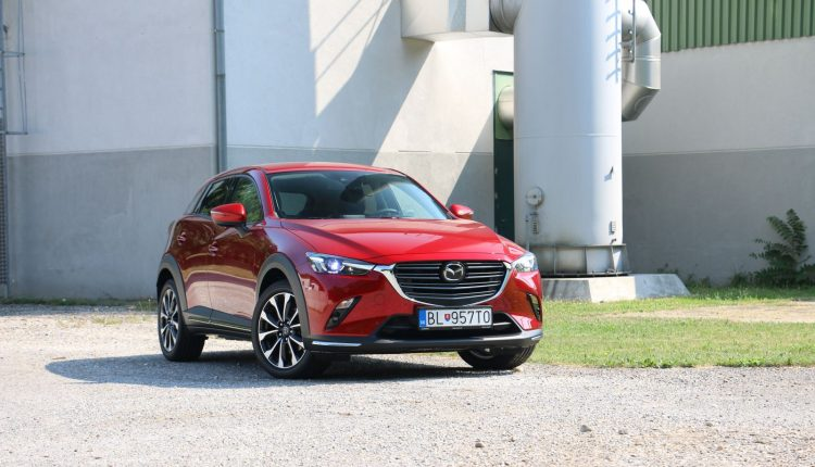 Test Mazda CX-3 2.0 G150 AT