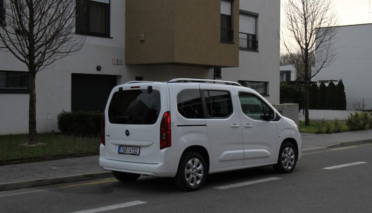 Test: Opel Combo Life 1,2 TURBO