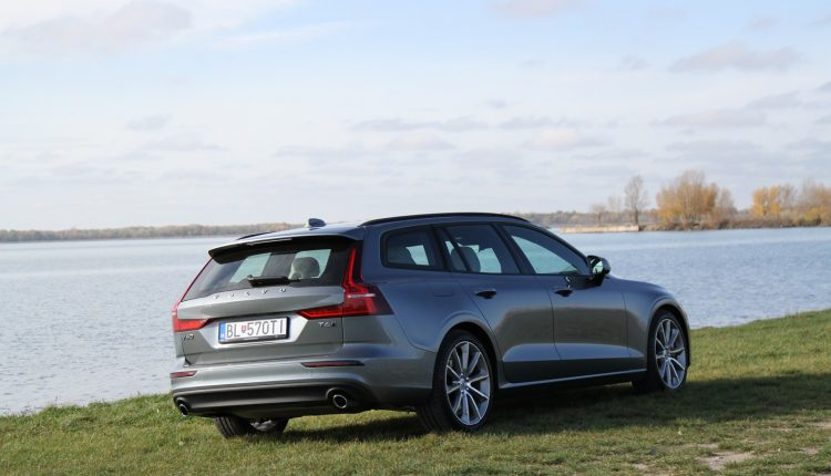 Test Volvo V60 T6 AWD