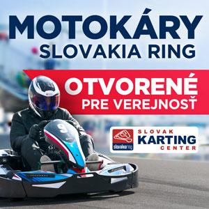 Slovakia ring – motokari