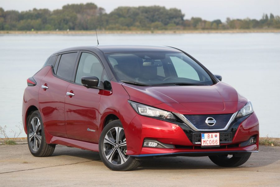 2020 Nissan LEAF e+ Tekna AM35