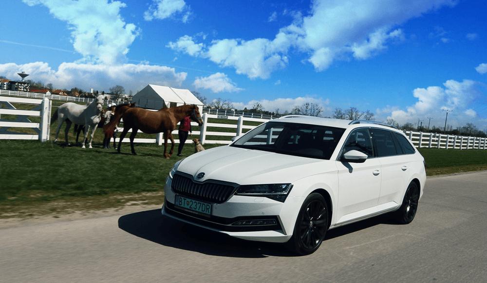 Škoda Superb Combi iV